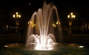 Fontana in Prato della Valle a Padova