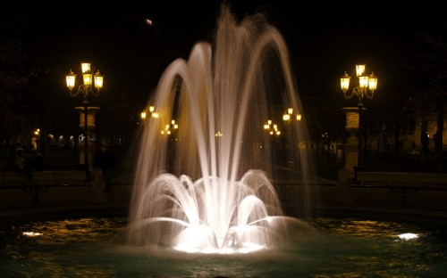 Padova - Fontana in Prato della Valle a Padova