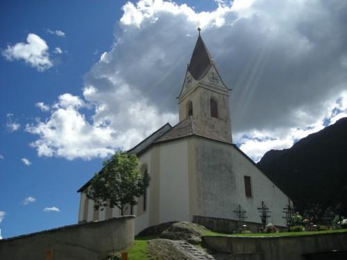 Senales - chiesa parrocchiale di Monte Santa Caterina