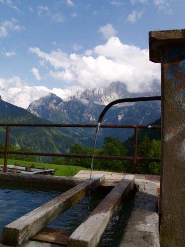 Alleghe - Fontana di montagna