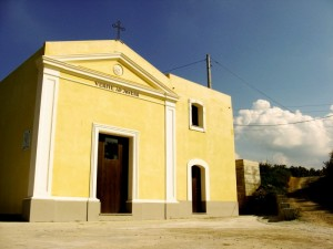 Merì - la chiesetta in campagna…