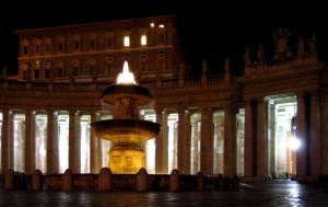 Fontanone sotto alla Camera del Papa