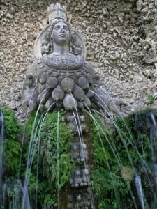 "fontana dalle ""mille mammelle"""