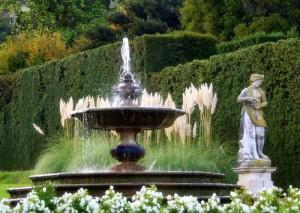Fontana nel giardino di Valsanzibio