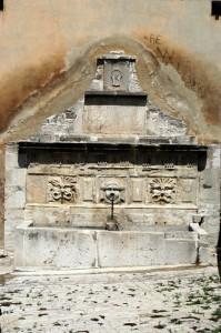 casacalenda - antica fontana di Kalena
