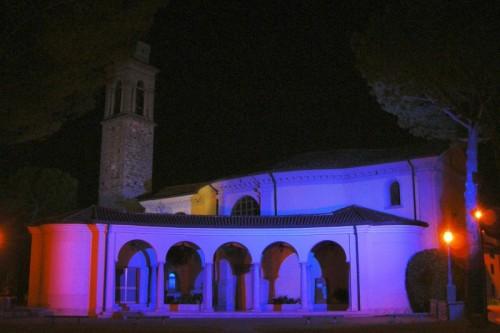 Reana del Rojale - Ribis - Santuario della Madonna del Carmine - Notturno