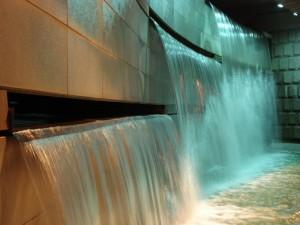 il muro d'acqua