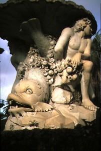 fontana nei giardini di capodimonte - napoli