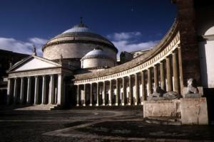piazza plebiscito - chiesa di san francesco di paola