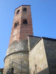Il campanile della Pieve
