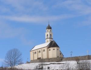 Chiesa S. Osvaldo - Bedollo (inverno)