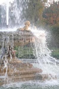 fontana del parco ducale di colorno
