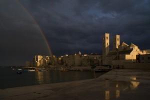 Arcobaleno sul Duomo di Molfetta