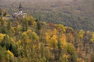 La chiesa di Elva