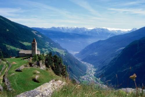 Tirano - Chiesa di San Remigio o San Romerio in Valle di Poschiavo
