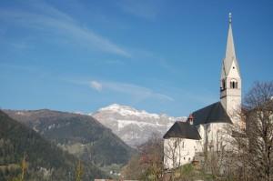 la chiesa di Pieve di Livinallongo