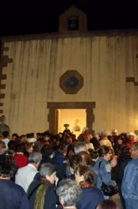Festa di San Francesco nell'omonima chiesetta