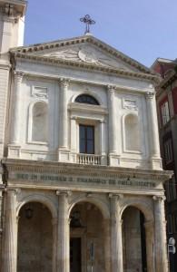 Chiesa di S. Francesco da Paola sulla via Roma
