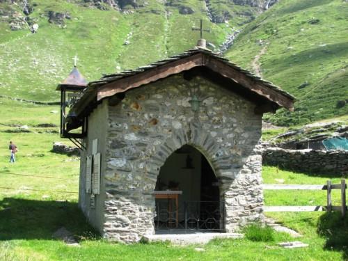 Campodolcino - Chiesetta all'Alpe Angeloga