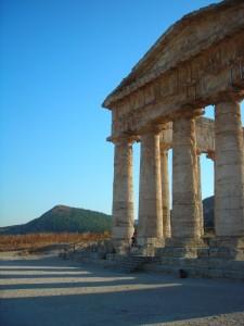Tempio di Segesta al tramonto