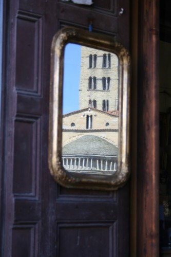 Arezzo - Tempio riflesso