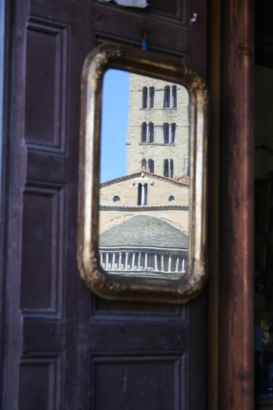 ''Tempio riflesso'' - Arezzo