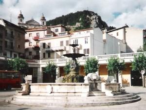 Fontana monumentale - Pescasseroli (AQ)
