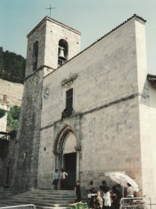 Chiesa parrocchiale - Pescasseroli (AQ)