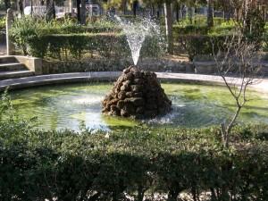 Sulmona - La fontana della villa comunale