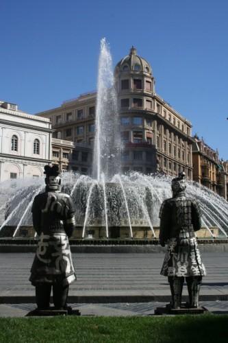 Genova - ...impietriti di fronte a cotanta frizzante bellezza