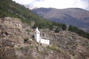la chiesetta di S. Egidio a Corzes