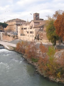 Scorcio di San Bartolomeo all'Isola Tiberina