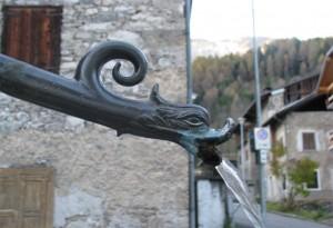 La fontana col becco