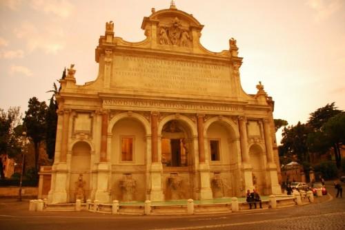 Roma - Il Fontanone sul Gianicolo