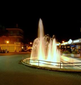 fontana in centro