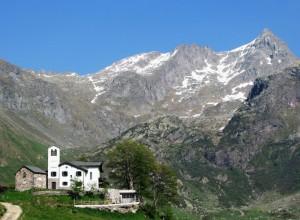 Santuario Madonna della Neve in Val Biandino
