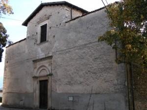 Chiesa di S. Maria - Fraz. Castello di Fagnano Alto