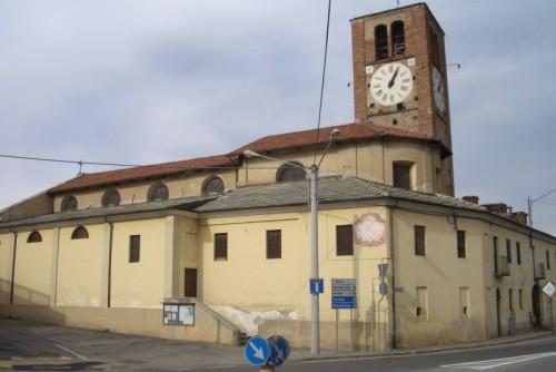 Airasca - chiesa parrocchiale di San Bartolomeo