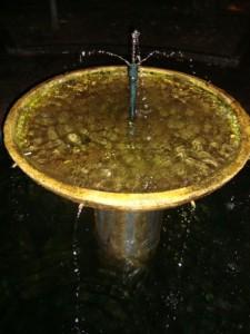 """Particolare di fontana ::   """" Non è tutto oro quel che riluce.. ."""""""