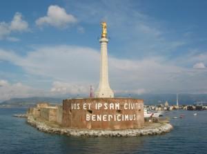 Madonna della lettera - Messina porto.