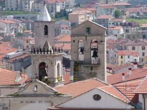 campanili del borgo antico