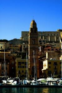 Il campanile dal mare