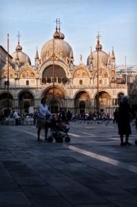 San Marco al tramonto