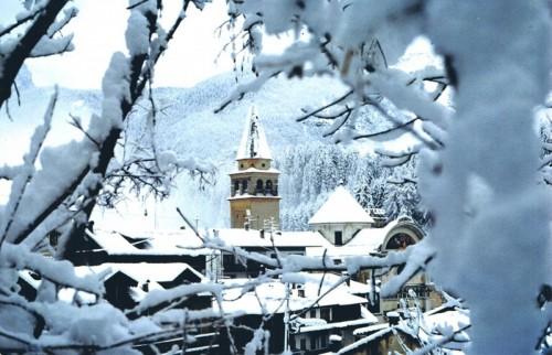 Pieve di Cadore - la prima neve