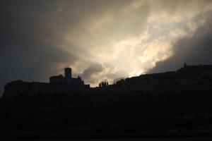 Assisi che si sveglia