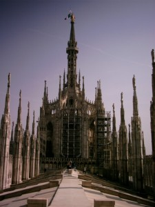 Sul Duomo di Milano