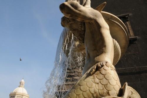Catania - Fontana dell'Amenano - particolare