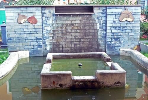 Borzonasca - La fontana delle castagne