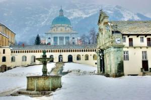 Oropa: Chiesa e Basilica Nuova