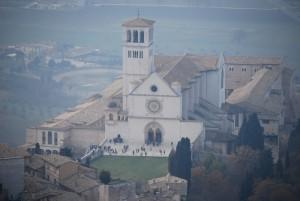 Vista dalla Rocca della Basilica
